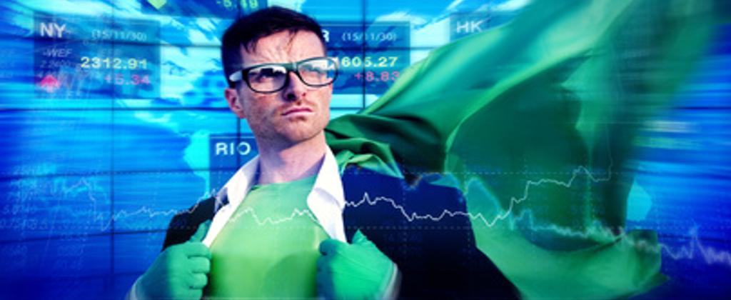 Strong Powerful Business Superhero Concepts